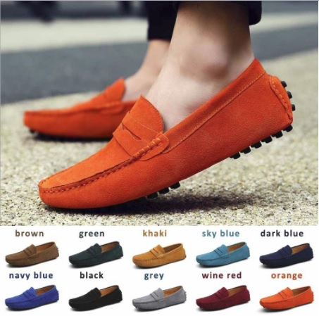 7671b9ac18f9e JPSSH1001 2017 Men Fashion Summer Casual Soft Loafers Leather Shoes Flats  Driving Shoes