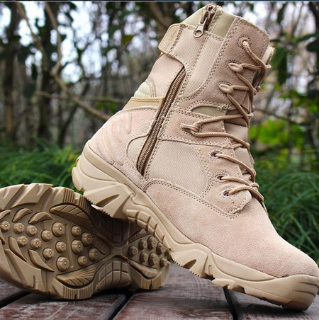 4f137d8f286 JPDELT1001 Delta Brand Military Tactical Boots Desert Combat Outdoor Army  Hiking shoes Travel Botas Shoes Leather Autumn Male Ankle Boots