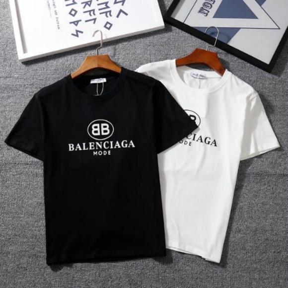 1cc5b362534e7e JPMTOP1005 2018 MEN'S/Women BALENCIAGA Star Shirts T-Shirt – ♥JP's ...